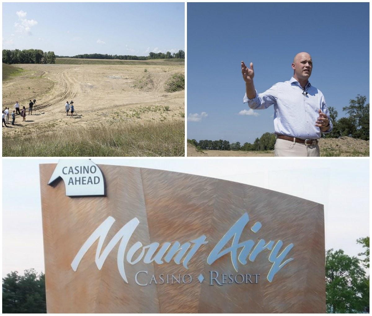 Mount Airy Casino Pennsylvania satellite