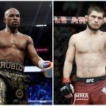 Floyd Mayweather vs. Khabib Nurmagomedov Boxing Odds Have 'Money' Heavy Favorite