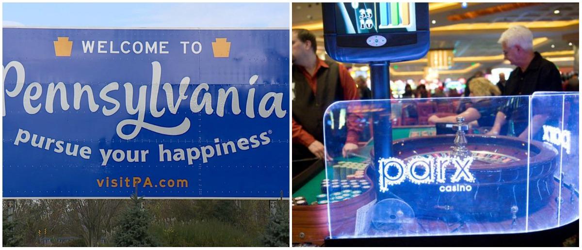 casino revenue Pennsylvania gambling