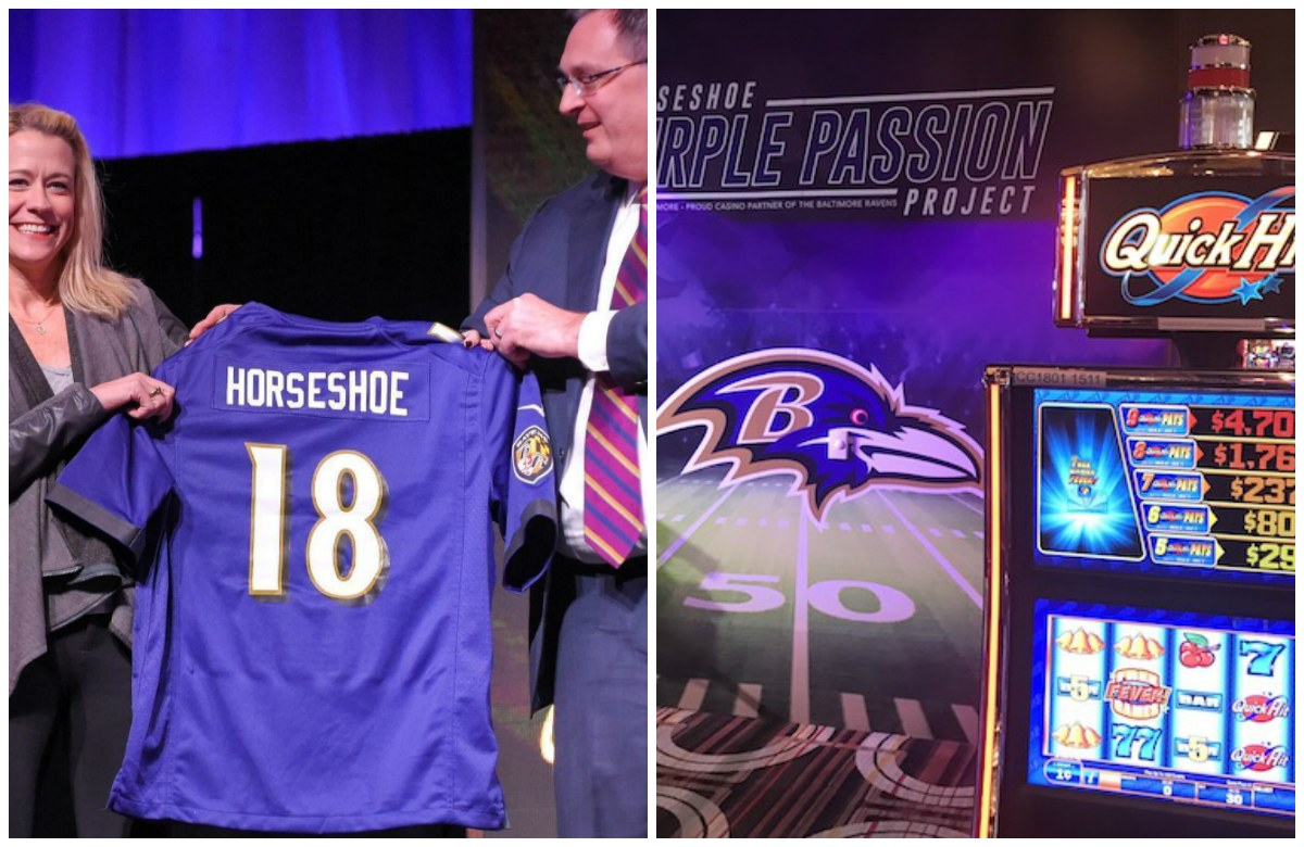 Horseshoe Casino Baltimore Ravens
