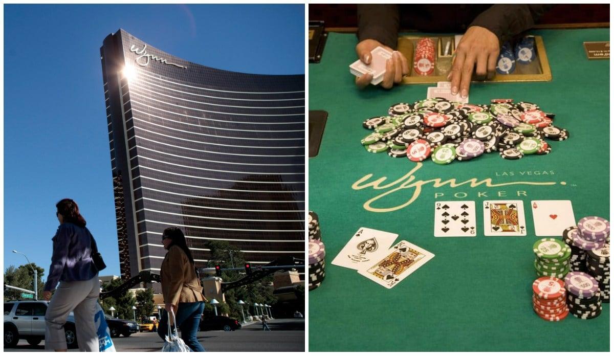 Wynn Las Vegas dealers tip casino