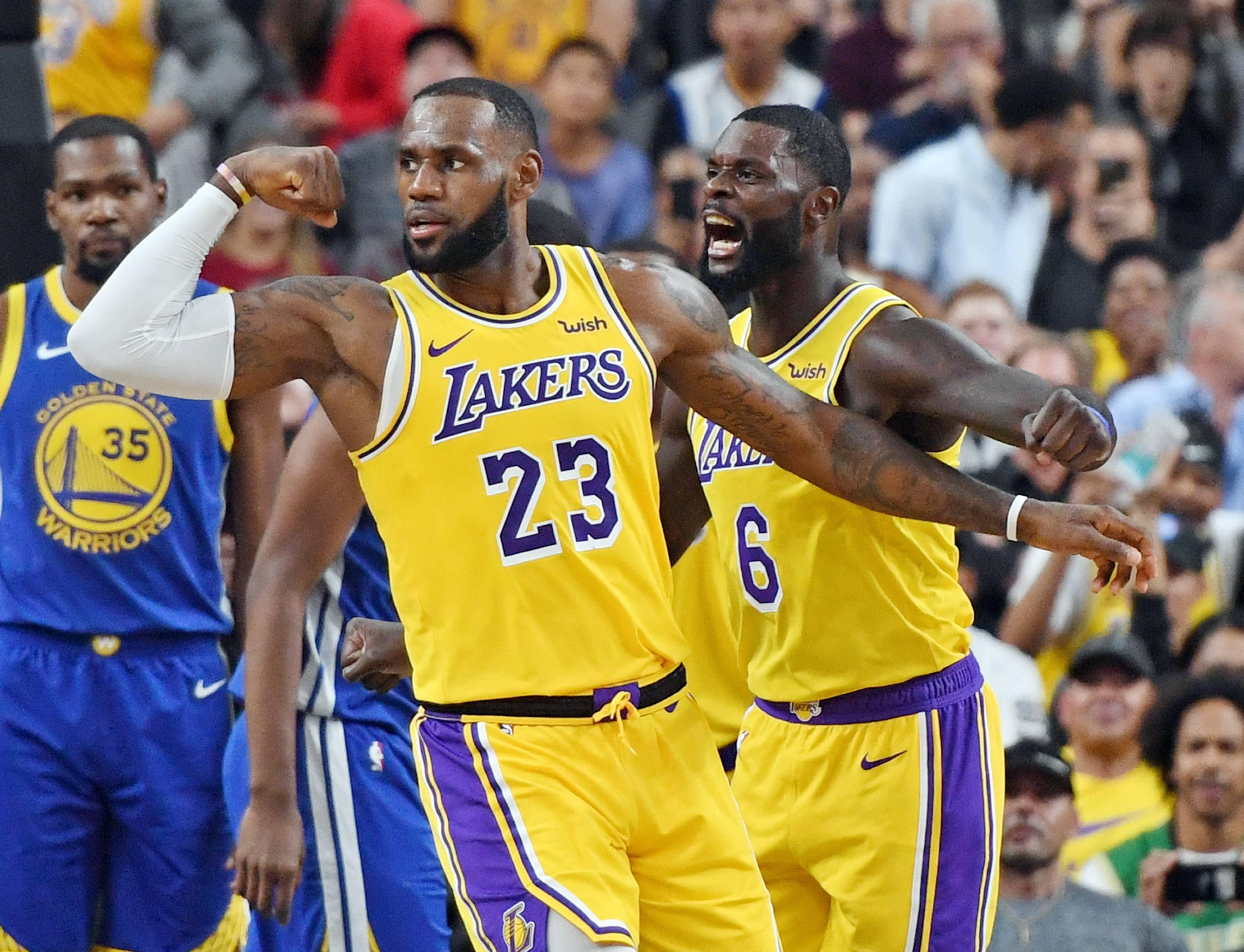 Los Angeles Lakers NBA odds