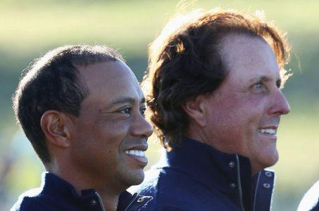Tiger Woods Phil Mickelson golf odds