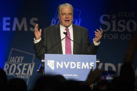political odds Election Day Steve Sisolak
