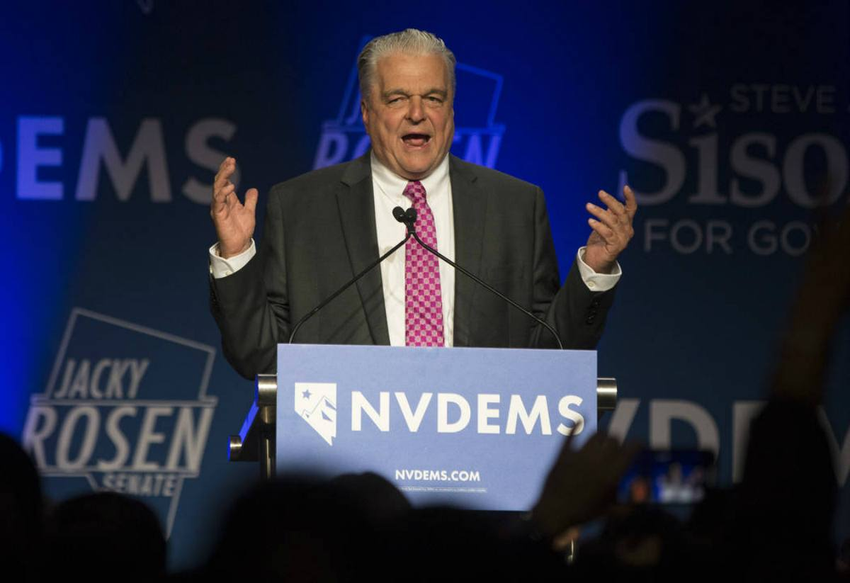 political odds Election Day Steve Sisolak