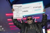 Powerball jackpot winner Robert Bailey