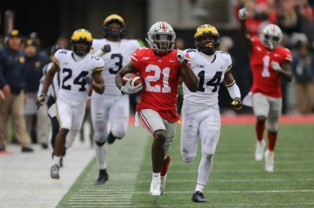Ohio State CFP rankings football odds