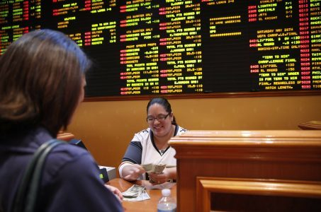 casino revenue sports betting US