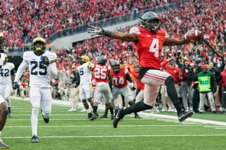 Ohio State Michigan odds college football