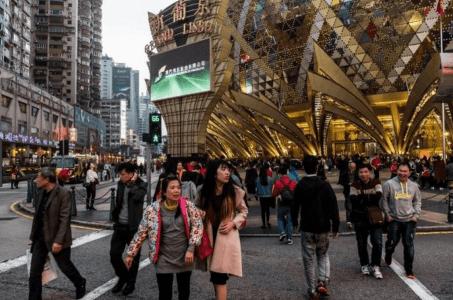 Macau casino gaming revenue October