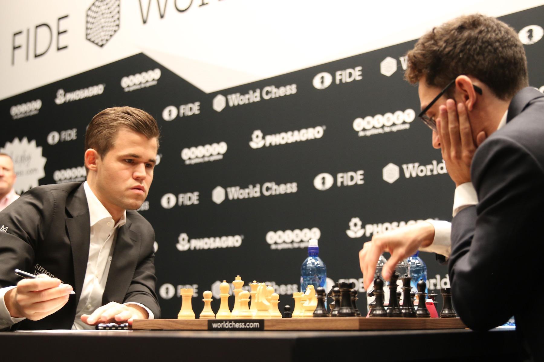 World Chess Championship betting