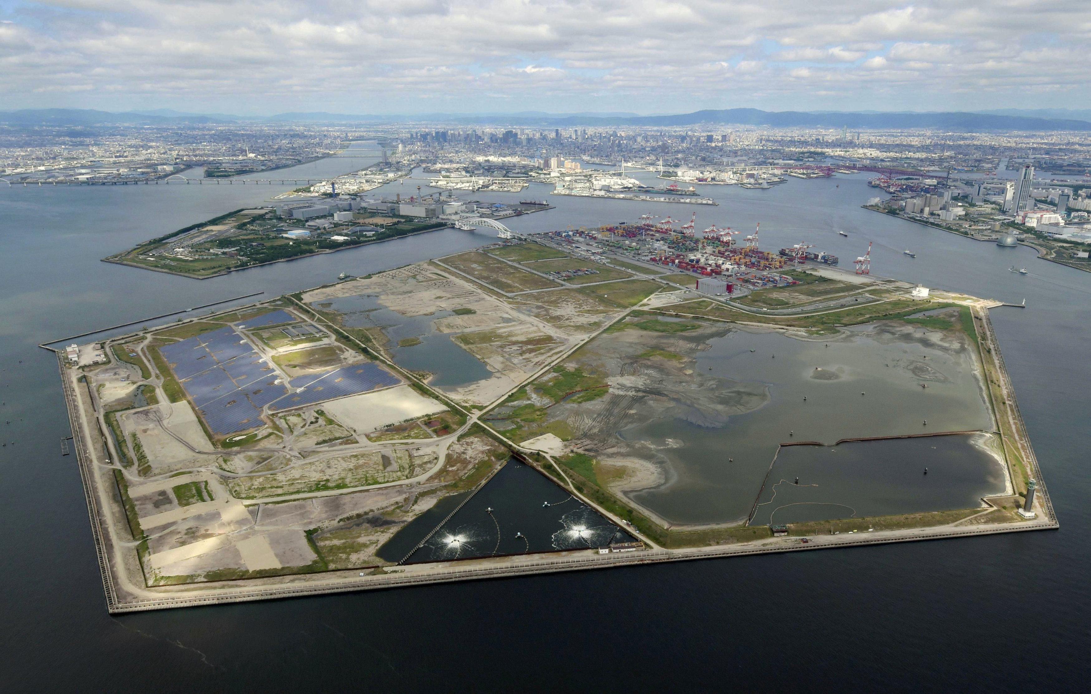 Osaka integrated resort World Expo
