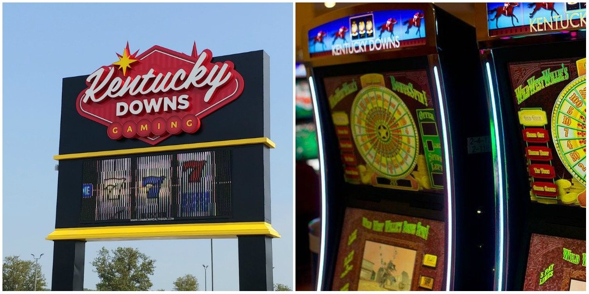 Kentucky Downs historical racing terminals