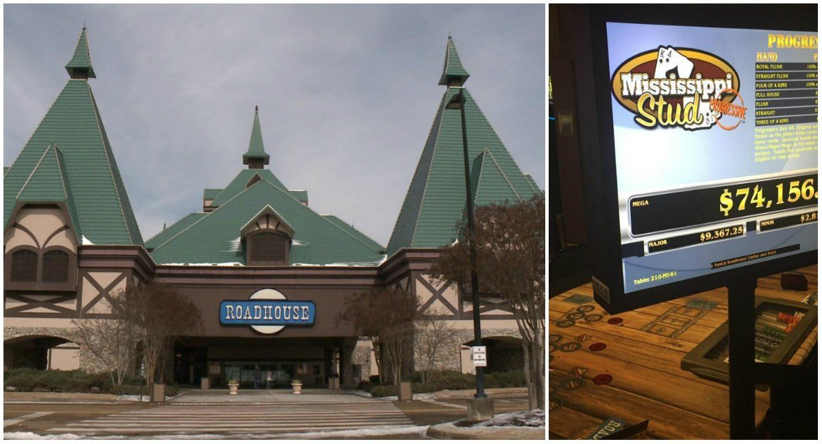 Caesars Entertainment Tunica Roadhouse casino