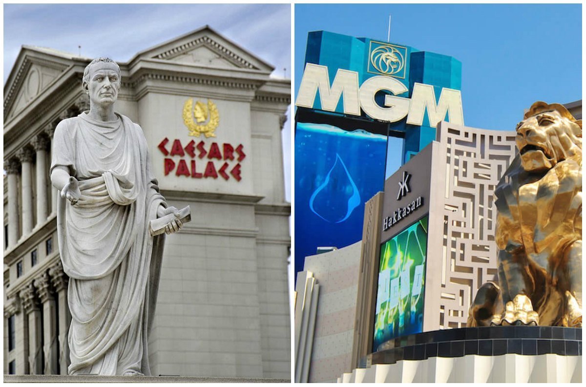 MGM Resorts Caesars Entertainment merger