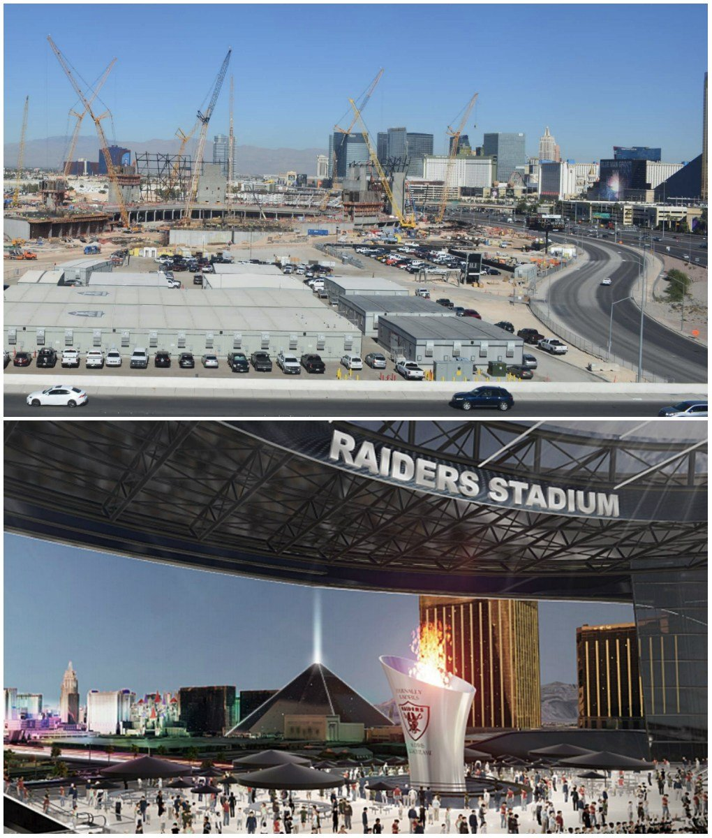 Nevada Las Vegas Raiders stadium