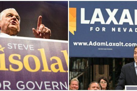 Election Day Nevada governor race