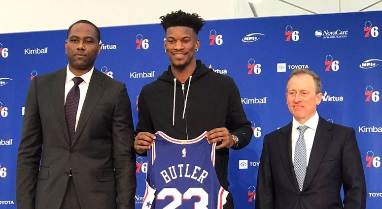 Oddsmakers Improve Sixers' Finals Chances With Jimmy Butler