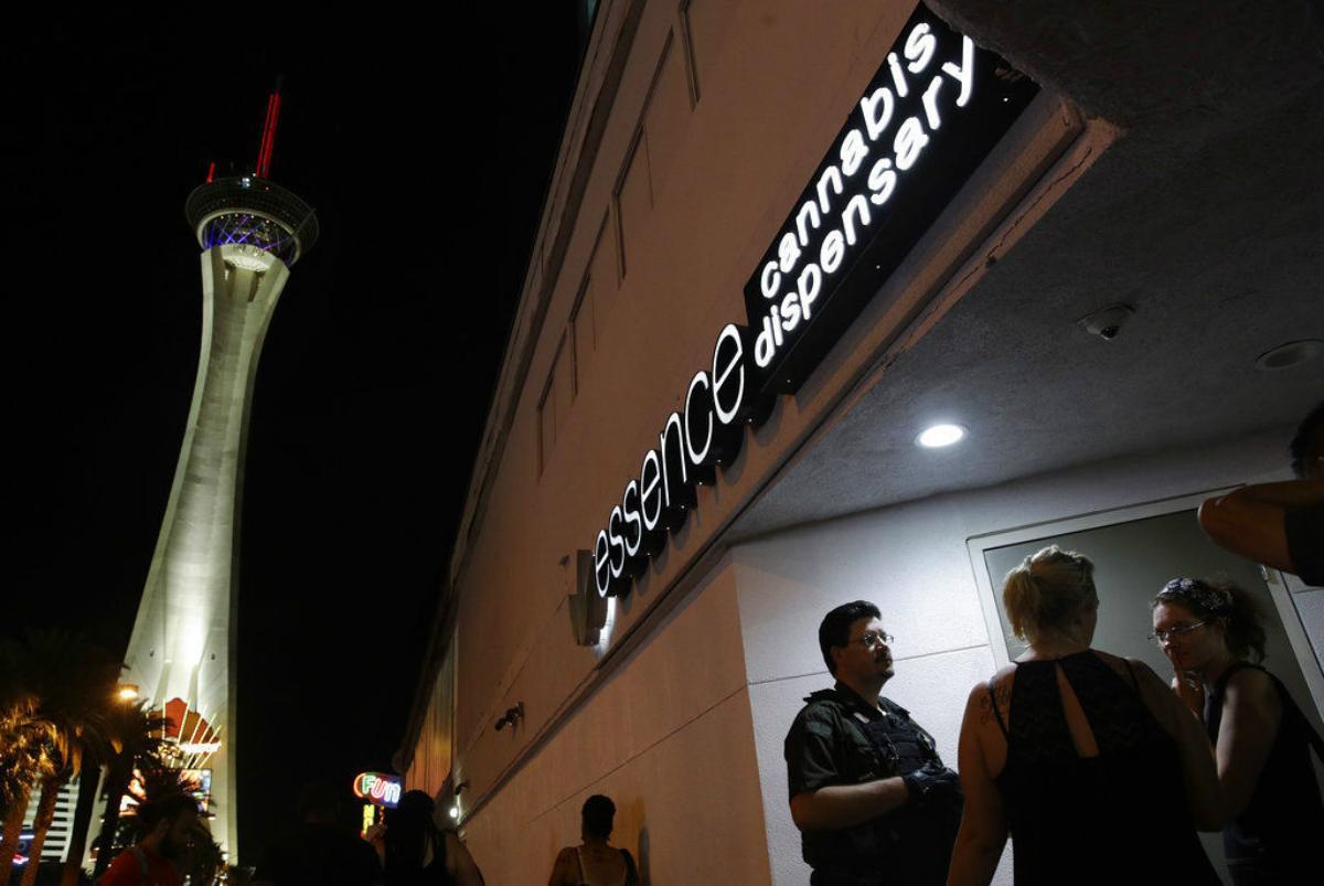 Las Vegas casino marijuana dispensary
