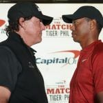 Phil Mickelson Bets $200K on Birdieing First Hole in Match Against Tiger Woods