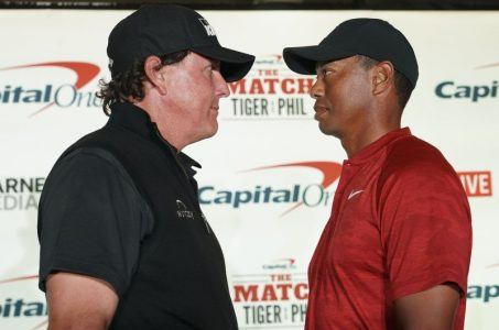 Phil Mickelson Tiger Woods golf odds