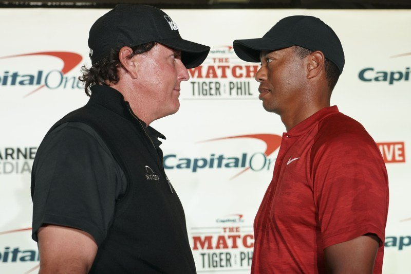 The Match 2018: Tiger Woods vs