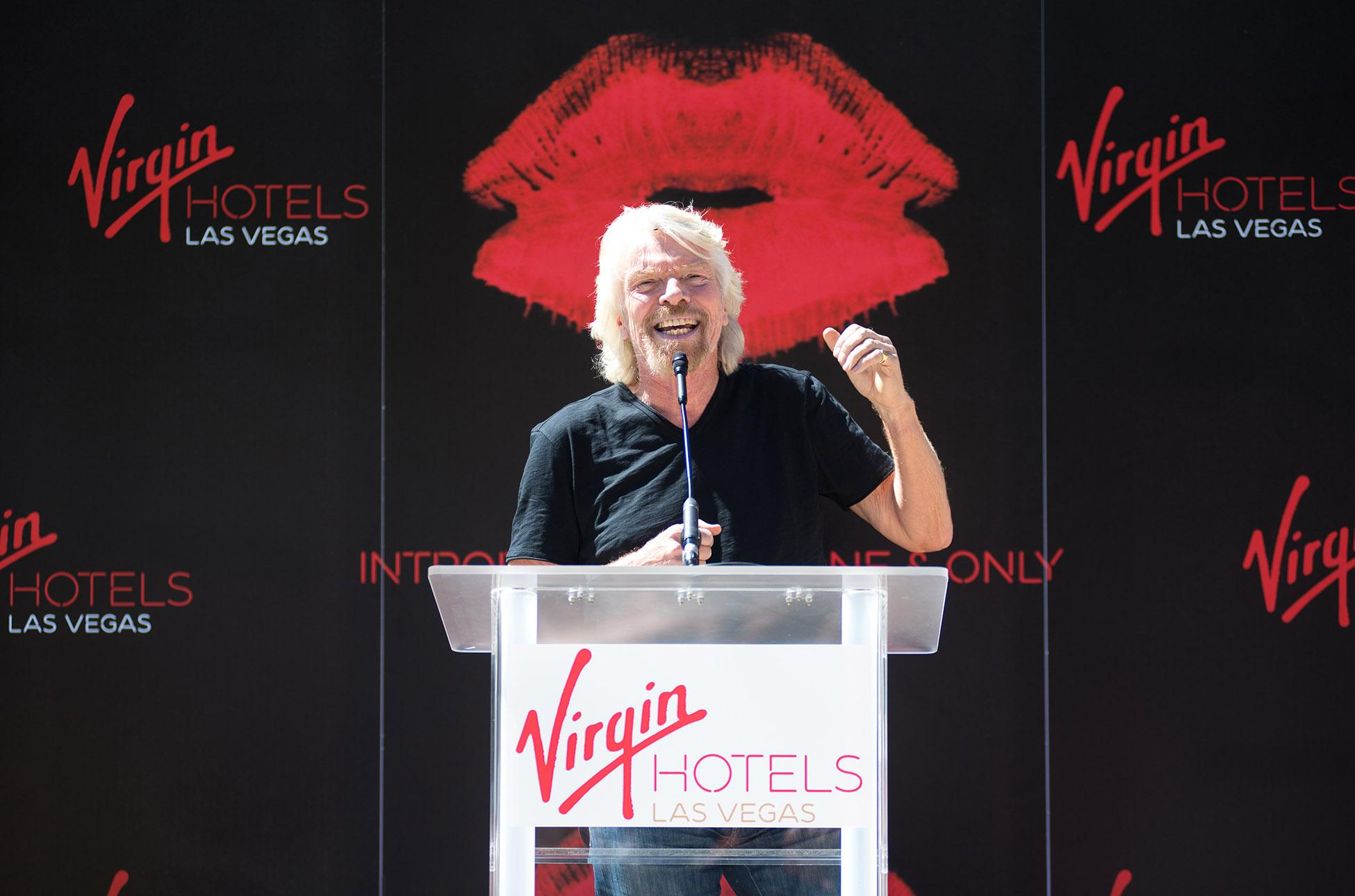 Hard Rock Las Vegas Virgin Richard Branson