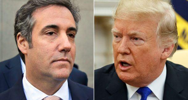 Donald Trump impeachment odds Michael Cohen