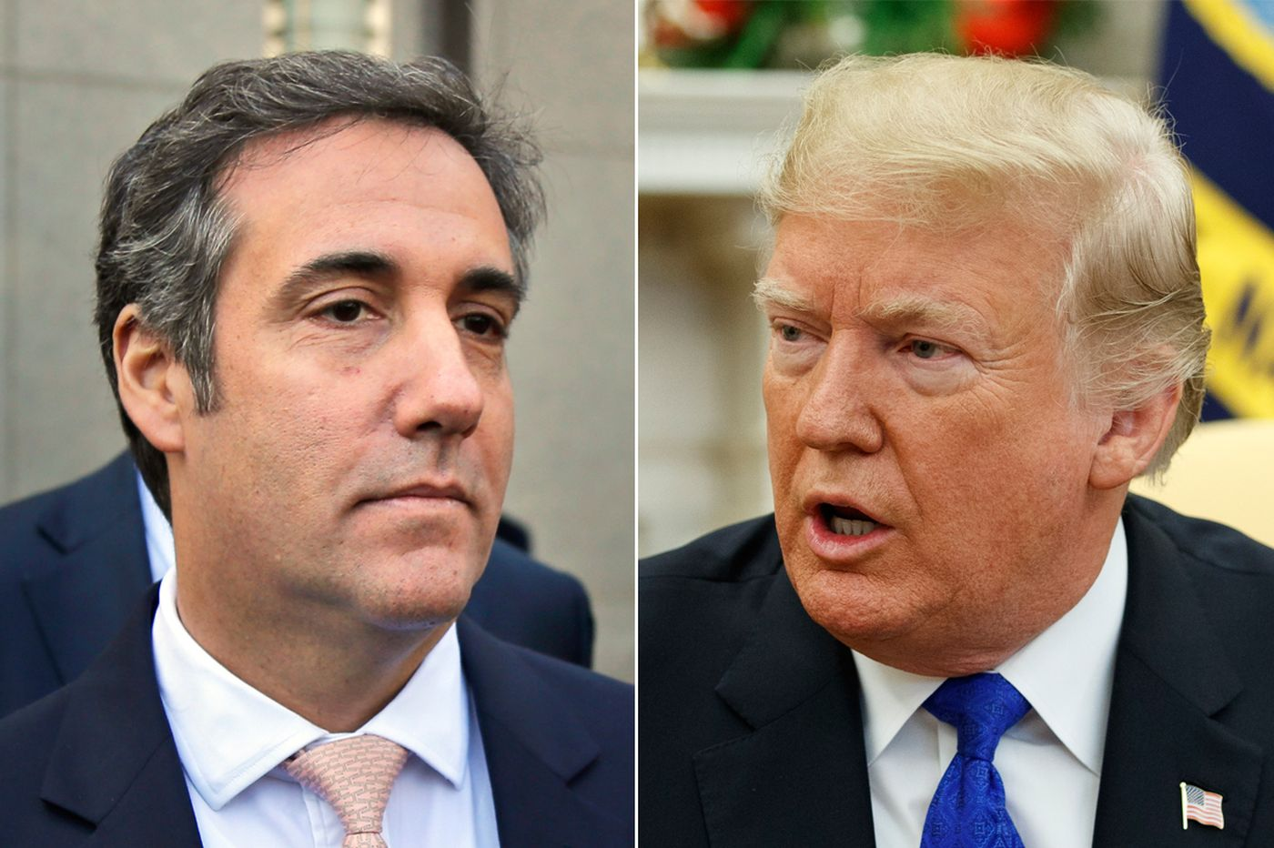 Donald Trump impeachment odds Michael Cohen