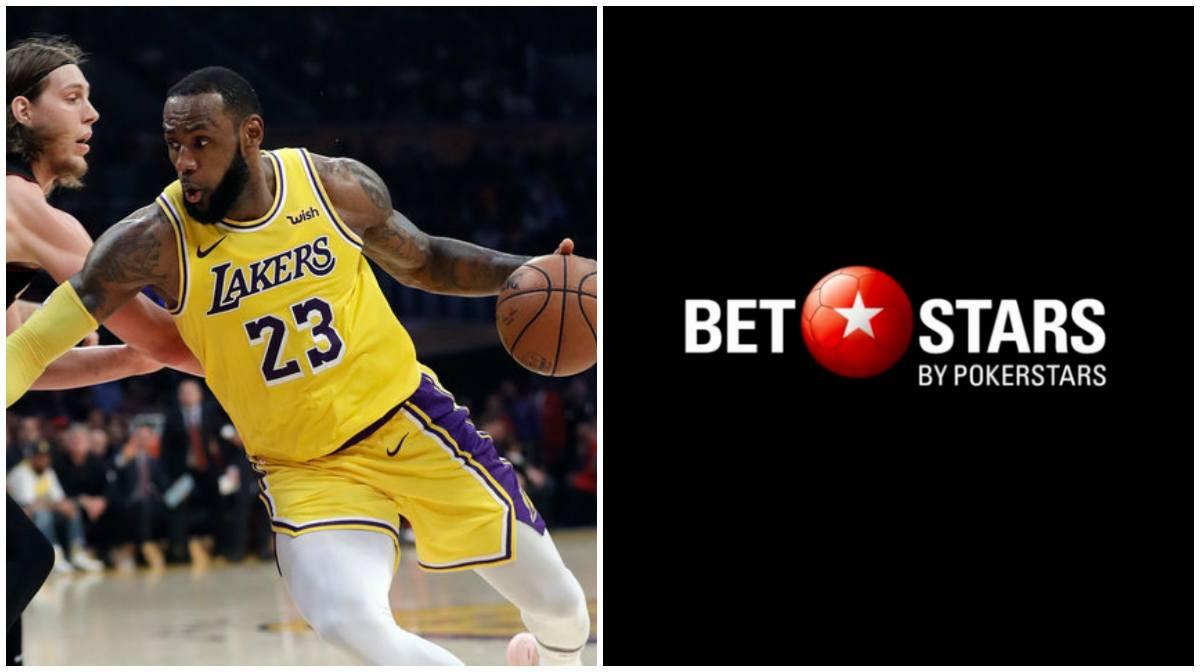 NBA sports betting Stars Group BetStars