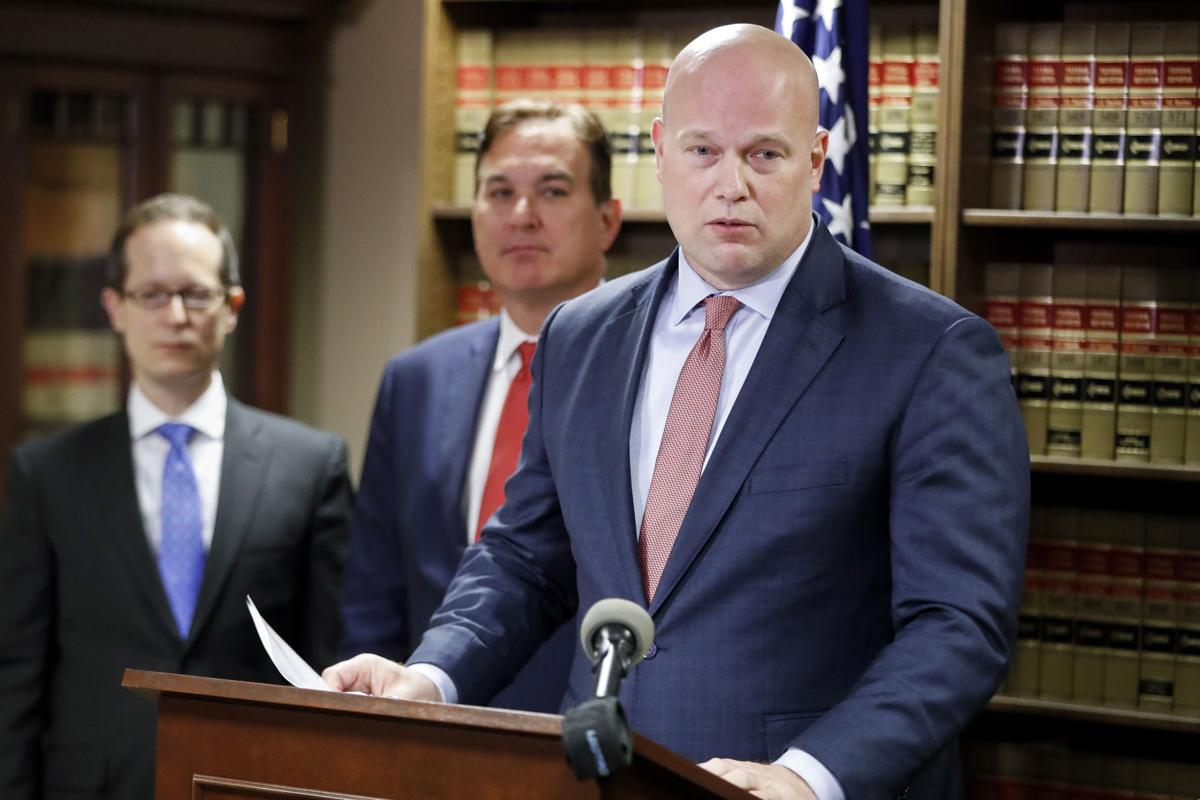 Acting Attorney General Matthew Whitaker said that the DOJ will donate $17 million for compensation claims for victims of the Las Vegas massacre.