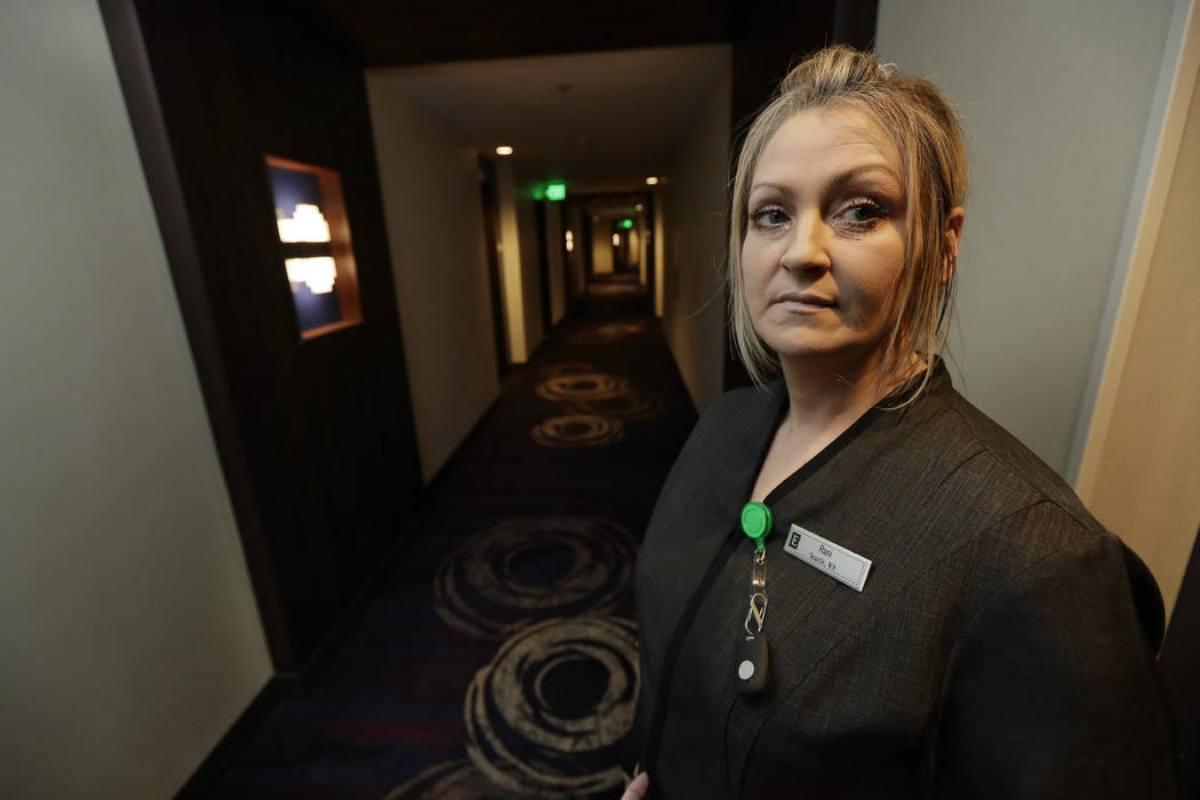 Atlantic City casino housekeepers panic button