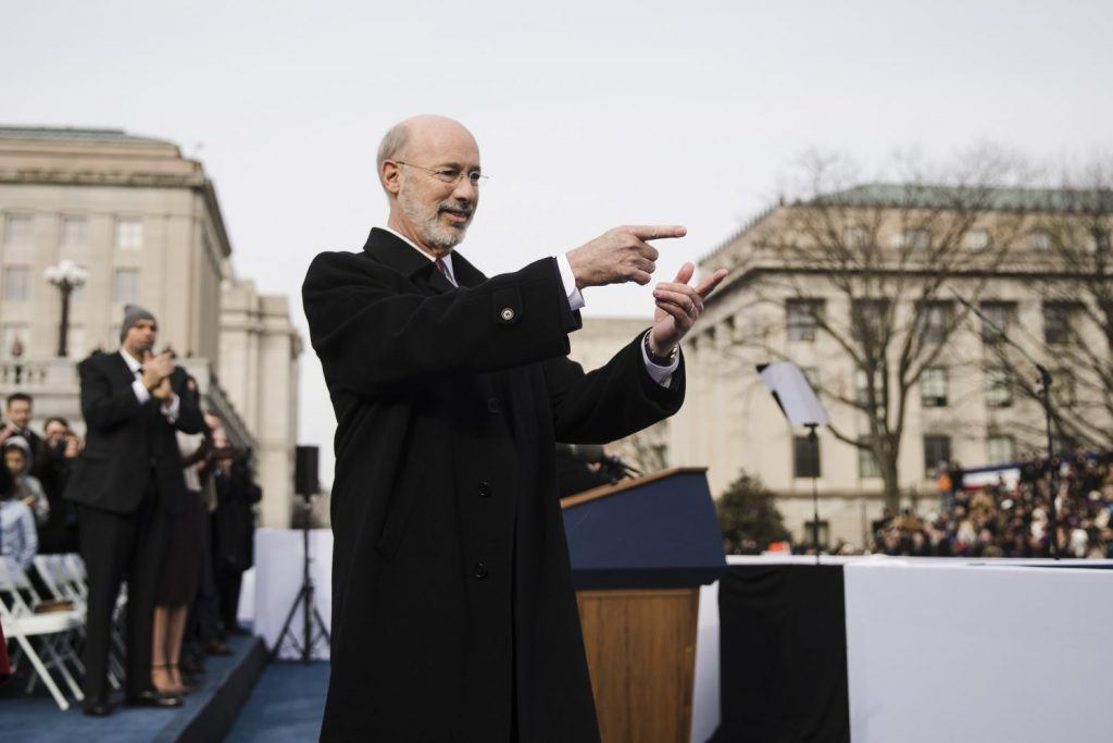 Pennsylvania casinos Tom Wolf