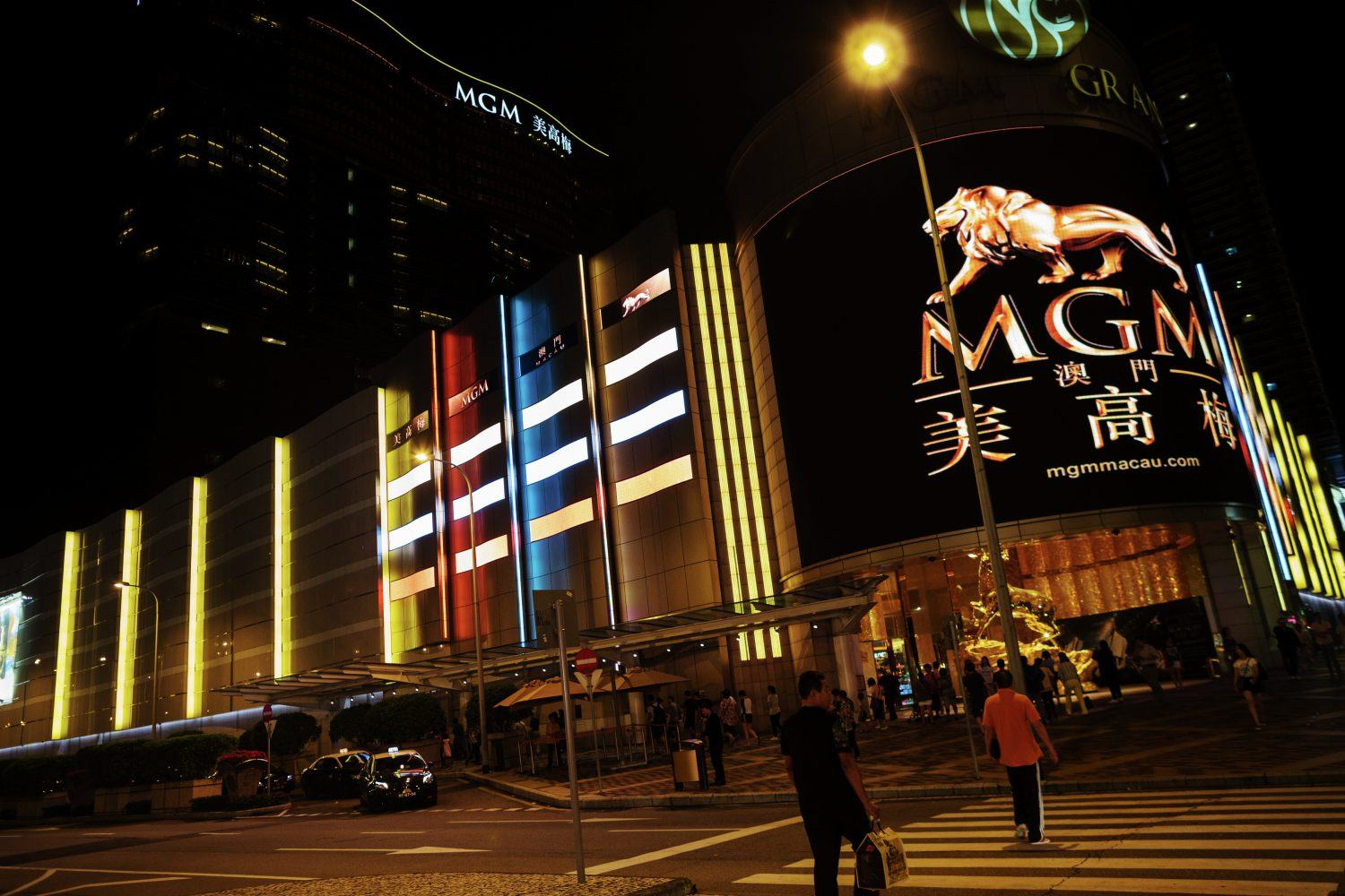 Macau gaming tables casinos