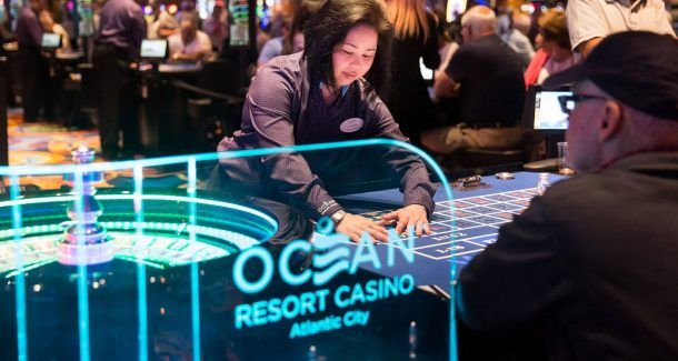 Atlantic City casinos gambling revenue
