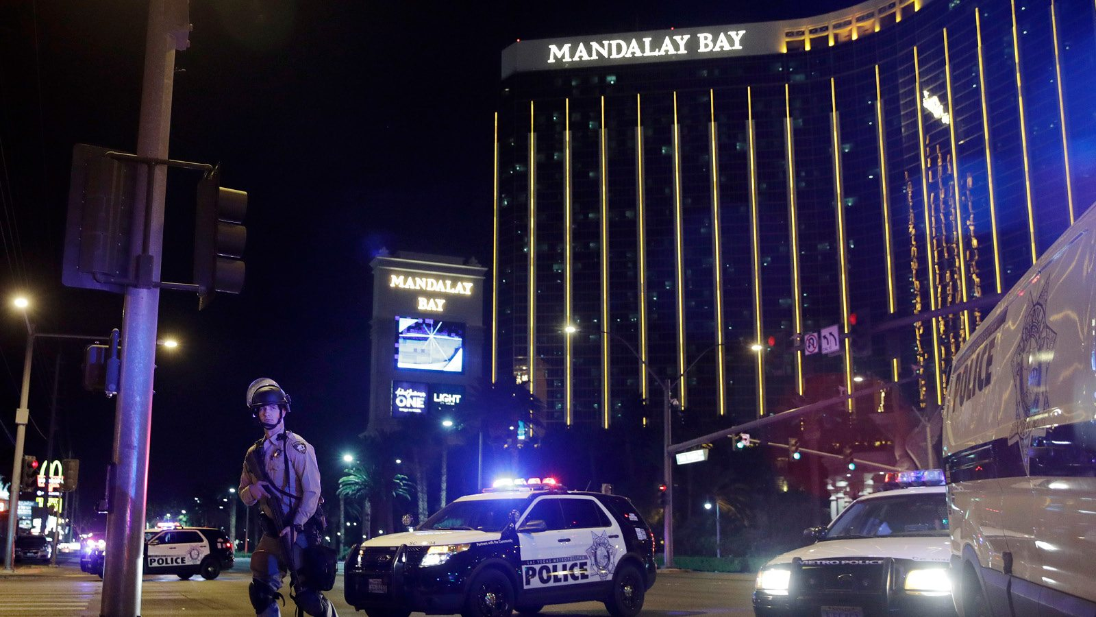 Las Vegas police October 1 shooting