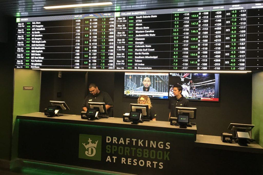 DraftKings Atlantic City sports betting lawsuit