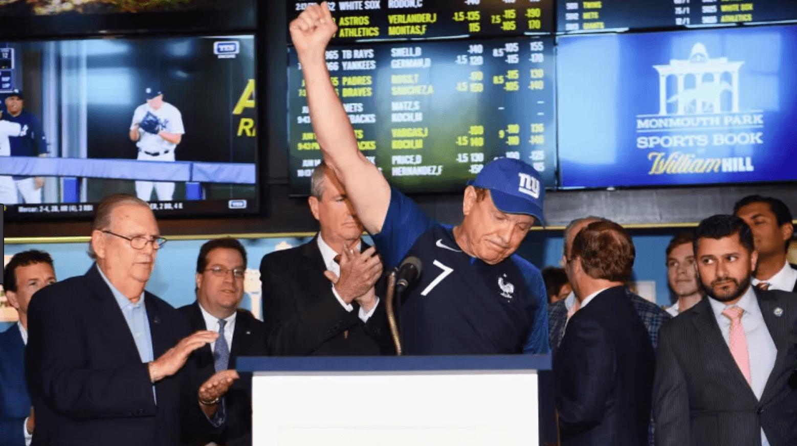 Raymond Lesniak Wire Act sports betting