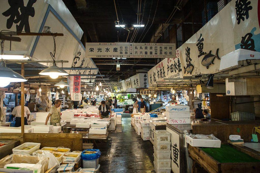 Integrated resort Tsukiji fish market