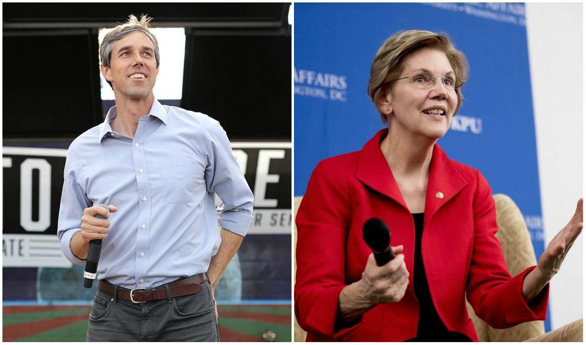 Elizabeth Warren 2020 odds Beto O'Rourke