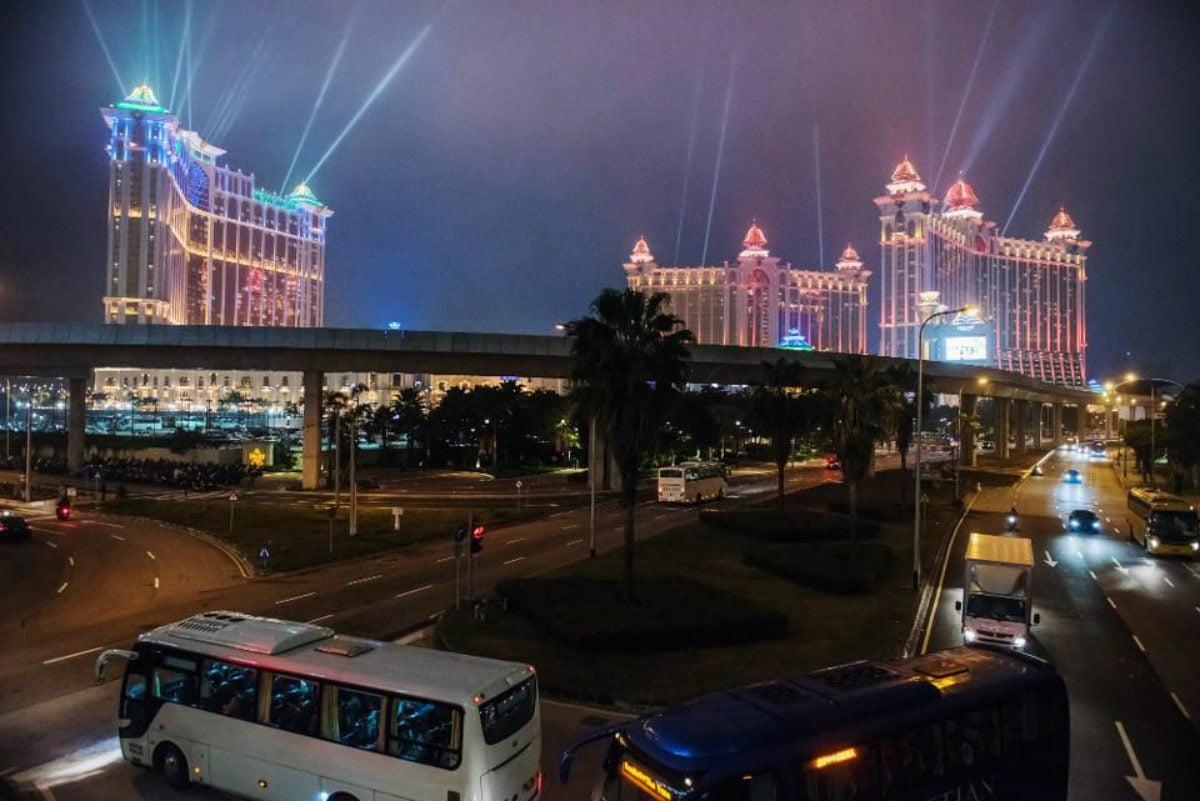 JPMorgan Macau gaming revenue 2019