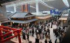 Japan casino advertisement airport