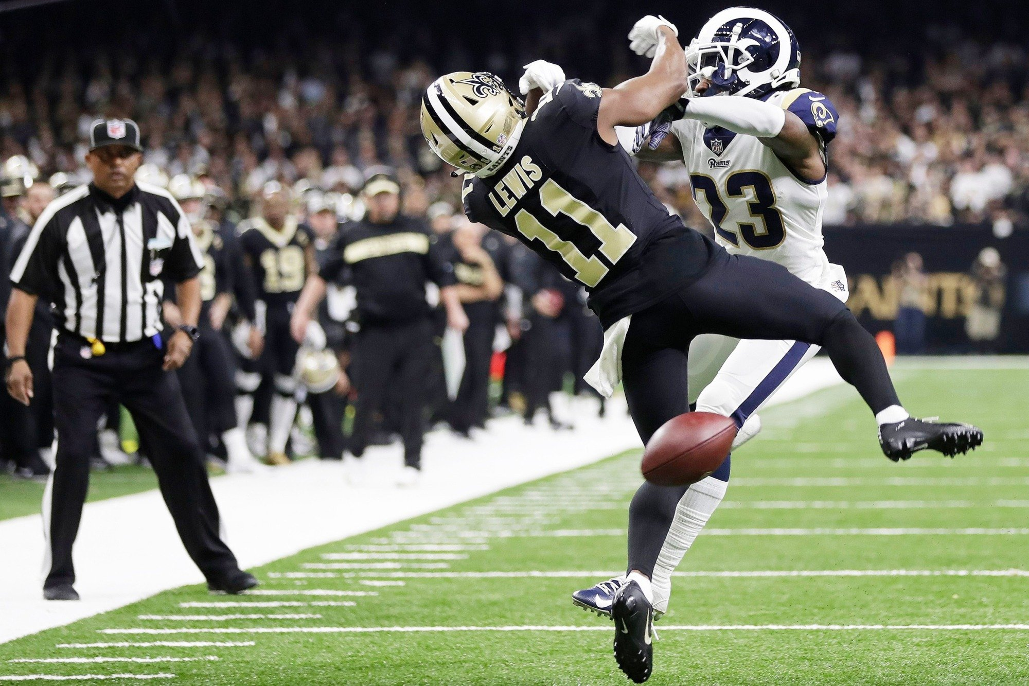 Nfl Admits Referee Errors In Nfc Championship Blames Humans