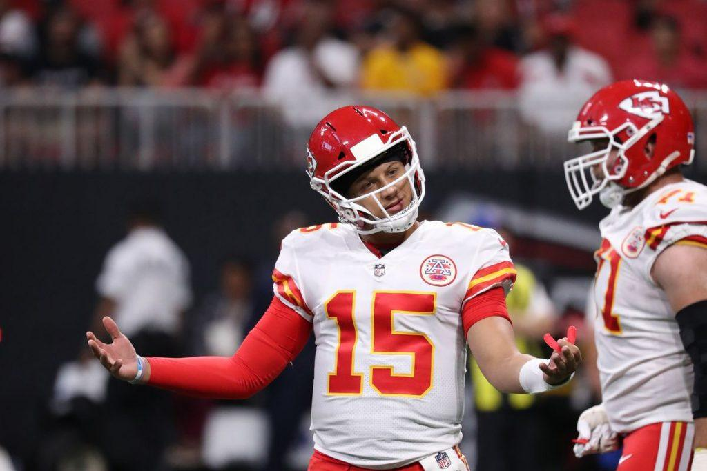 NFL odds Chiefs Patriots Saints Rams