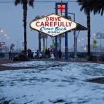 Las Vegas Hits Cold Streak, Flights Grounded, Roads Closed Due to Rare Snow and Ice