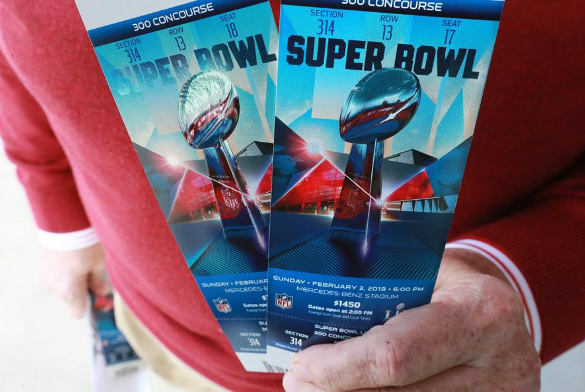 Super Bowl scammer NFL tickets