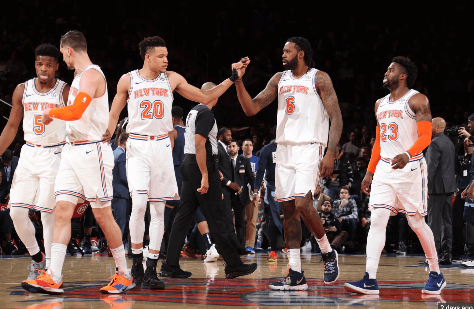 New York Knicks NBA odds sports betting