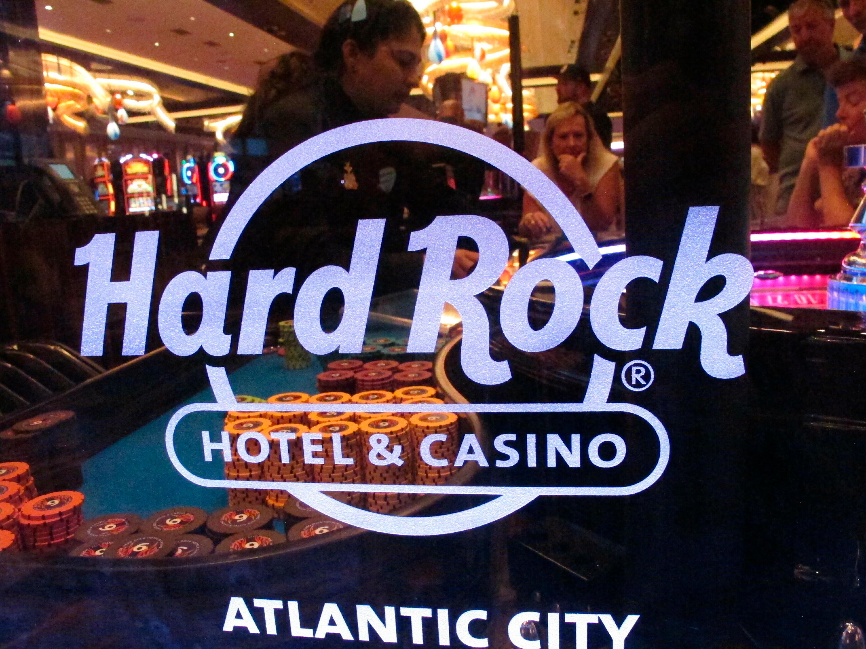 New Jersey gaming revenue Hard Rock