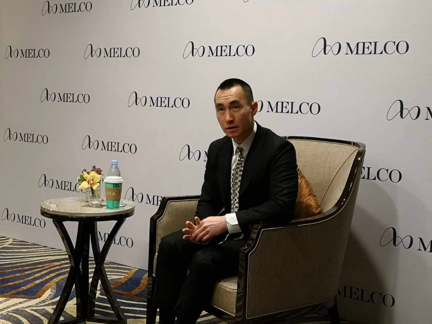 Melco Resorts stock Lawrence Ho Macau