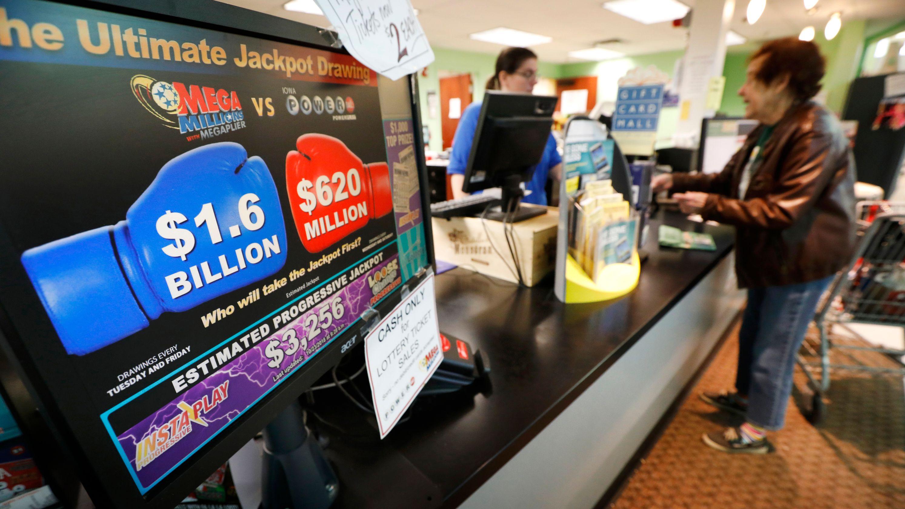 Mega Millions jackpot Powerball winner